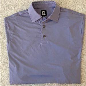 ⛳️ FootJoy Men's Purple Stripped Golf Polo - M ⛳️